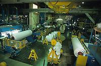 GERMANY, Uetersen, paper factory Feldmuehle, former owned by Stora Enso / DEUTSCHLAND, Uetersen, Feldmühle Uetersen GmbH Papierfabrik, vorher StoraEnso