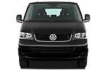 Straight front view of a 2010 Volkswagen Multivan Shuttle Comfortline Minivan