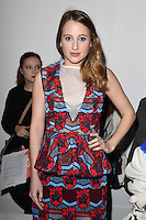 Rosie Fortescue<br /> at the Teatum Jones AW17 show as part of London Fashion Week AW17 at 180 Strand, London.<br /> <br /> <br /> ©Ash Knotek  D3230  17/02/2017