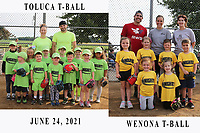 TOLUCA - WENONA T-BALL 6/24/2021