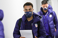 WIENER NEUSTADT, AUSTRIA - NOVEMBER 16: Sergino Dest #2 of the United States before a game between Panama and USMNT at Stadion Wiener Neustadt on November 16, 2020 in Wiener Neustadt, Austria.
