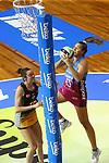NELSON, NEW ZEALAND - DECEMBER 8: Super Club Netball Sunday 8 December 2019 at Trafalgar Centre, New Zealand. (Photo by Shuttersport Limited)
