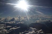 REGION ANDINA  -COLOMBIA. 24-12-2013.  Nubes en los cielos de la region andina entre Antioquia y Cundinamarca./ Clouds in the skies of the Andean region between Antioquia and Cundinamarca. . Photo:  Photo: VizzorImage/ Felipe Caicedo / Staff