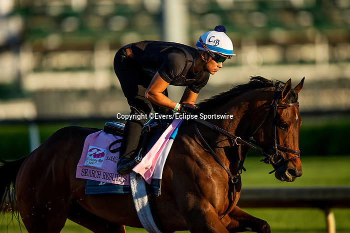 April 27, 2021 Search Results gallops in preparation for the Kentucky Oaks at Churchill Downs in Louisville, Kentucky on April 27, 2021. EversEclipse Sportswire/CSM
