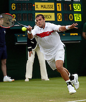26-6-06,England, London, Wimbledon, first round match, Dorsch