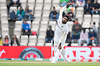 Jasprit Bumrah, India bowls the opening over during India vs New Zealand, ICC World Test Championship Final Cricket at The Hampshire Bowl on 22nd June 2021