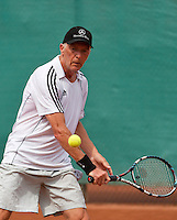 2013,{today month}{today day} Netherlands, Amstelveen,  TV de Kegel, Tennis, NVK 2013, National Veterans Tennis Champ,   Peter Gerritsen    Adri van der Meulen<br /> Photo: Henk Koster
