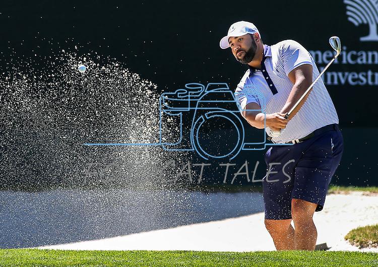 during an American Century Championship practice round at Edgewood Tahoe Golf Course in Stateline, Nev., on Wednesday, July 15, 2015. <br /> Photo by Cathleen Allison
