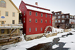 The Littleton Gristmill in Littleton, White Mountain region, NH