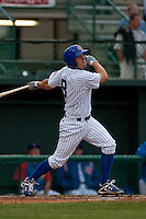 April 10th 2010: Josh Vitters of the Daytona Cubs in the game against the Brevard County Manatees at Jackie Robinson Ballpark in Daytona Beach, FL (Photo By Scott Jontes/Four Seam Images)