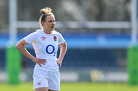 Sarah McKenna of England during the Guinness Six Nations match between England Women and Scotland Women at Castle Park Stadium, Doncaster, England on 3 April 2021. Photo by Thomas Gadd / PRiME Media Images.