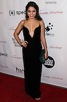 """HOLLYWOOD, CA - JANUARY 14: Actress Vanessa Hudgens arrives at the Los Angeles Screening of Roadside Attractions & Day 28 Films' """"Gimme Shelter"""" held at the Egyptian Theatre on January 14, 2014 in Hollywood, California. (Photo by Xavier Collin/Celebrity Monitor)"""