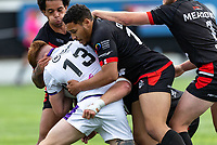 Jacob Ogden of London Broncos during the Betfred Championship match between London Broncos and Newcastle Thunder at The Rock, Rosslyn Park, London, England on 9 May 2021. Photo by Liam McAvoy.