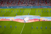 Stadtchoreographie München<br /> - Muenchen 02.07.2021: Italien vs. Belgien, Viertelfinale, Allianz Arena Muenchen, Euro2020, emonline, emspor, Playoffs, Quarterfinals<br /> <br /> Foto: Marc Schueler/Sportpics.de<br /> Nur für journalistische Zwecke. Only for editorial use. (DFL/DFB REGULATIONS PROHIBIT ANY USE OF PHOTOGRAPHS as IMAGE SEQUENCES and/or QUASI-VIDEO)