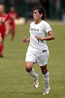 SAN ANTONIO, TX - SEPTEMBER 19, 2010: The University of Houston Cougars vs. the University of Texas at San Antonio Roadrunners Women's Soccer at Roadrunner Field. (Photo by Jeff Huehn)