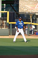 ***Temporary Unedited Reference File***Corpus Christi Hooks right fielder Teoscar Hernandez (15) during a game against the Frisco RoughRiders on April 23, 2016 at Whataburger Field in Corpus Christi, Texas.  Corpus Christi defeated Frisco 3-2.  (Mike Janes/Four Seam Images)
