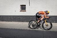 Riejanne Markus (NED/Jumbo-Visma)<br /> <br /> 88th UCI Road World Championships 2021 – ITT (WC)<br /> Women Elite Time trial from Knokke-Heist to Brugge (30.3km)<br /> <br /> ©Kramon