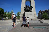 Ottawa (ON) CANADA - Mai 21, 2012 --  War Monument