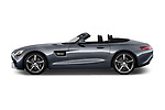 Car driver side profile view of a 2018 Mercedes Benz AMG GT AMG GT 2 Door Roadster