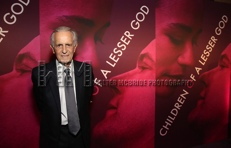Mark Medoff attends the Broadway Opening Night After Party for 'Children of a Lesser God' at Edison Ballroom on April 11, 2018 in New York City.