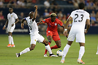 KANSAS CITY, KANSAS - JUNE 26: Gyasi Zardes #9 during a 2019 CONCACAF Gold Cup group D match between the United States and Panama at Children's Mercy Park on June 26, 2019 in Kansas City, Kansas.