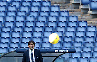 Football, Serie A: S.S. Lazio - Juventus Olympic stadium, Rome, November 8, 2020. <br /> Lazio's coach Simone Inzaghi during the Italian Serie A football match between Lazio and Juventus at Olympic stadium in Rome, on November 8, 2020.<br /> UPDATE IMAGES PRESS/Isabella Bonotto