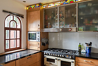 BNPS.co.uk (01202) 558833. <br /> Pic: UniquePropertyCompany/BNPS<br /> <br /> Pictured: Kitchen. <br /> <br /> Haus proud...<br /> <br /> A house designed in German Bavarian style in the south London commuter belt is on the market for £1.1m.<br /> <br /> Holly Lodge, a former pheasant shooting lodge and coaching inn, belonged to an engineer who fell in love with German architecture when he worked in the country.<br /> <br /> He bought and completely redesigned the building in the 1980s.<br /> <br /> The property, which is in the borough of Bromley, has four bedrooms, two bathrooms and two reception rooms.