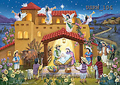 Randy, HOLY FAMILIES, HEILIGE FAMILIE, SAGRADA FAMÍLIA, paintings+++++Hispanic-Nativity-Scene,USRW106,#xr#