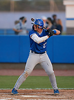 Jesuit Tigers Cole Russo (22) bats during a game against the IMG Academy Ascenders on April 21, 2021 at IMG Academy in Bradenton, Florida.  (Mike Janes/Four Seam Images)
