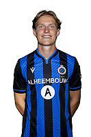 20th August 2020, Brugge, Belgium;  Ibe Hautekiet pictured during the team photo shoot of Club Brugge NXT prior the Proximus league football season 2020 - 2021 at the Belfius Base camp