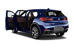 Car images close up view of a 2018 BMW X2 M Sport X 5 Door SUV doors