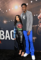 """LOS ANGELES, CA: 01, 2020: Larry Sanders & Brittany Sanders at the world premiere of """"The Way Back"""" at the Regal LA Live.<br /> Picture: Paul Smith/Featureflash"""