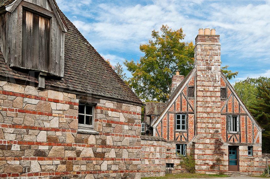 Brown's Mountain Gatehouse, Acadia National Park, Maine, ME, USA