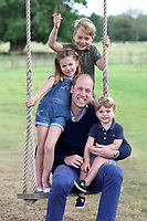 Prince William 38th Birthday and Fathers Day Official Photos