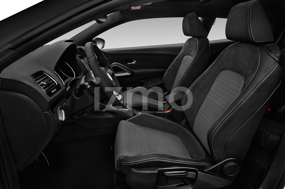 Front seat view of a 2017 Volkswagen Scirocco R Line 5 Door Hatchback front seat car photos