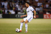 Cristiano Ronaldo. Real Madrid defeated Club America 3-2 at Candlestick Park in San Francisco, California on August 4th, 2010.
