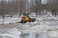 Inondation à Sainte-Pie le 22 Fevrier 2018<br /> <br /> PHOTO :  Agence Quebec Presse