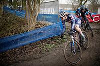 David van der Poel (NED/Alpecin-Fenix)<br /> <br /> 2021 Flandriencross Hamme (BEL)<br /> Men's Race<br /> <br /> ©kramon