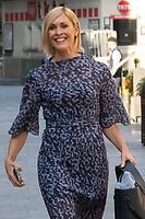 London, UK- 10 September 2020<br /> Jenni Falconer departing Global Radio Studios, London, UK<br /> CAP/JOR<br /> ©JOR/Capital Pictures