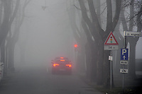 - nebbia a Brescello (Reggio Emilia)<br /> <br /> - fog in Brescello (Reggio Emilia)