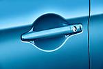 Door handle closeup detail of a 2011 Mitsubishi Outlander Sport SE