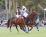 WELLINGTON, FL - MARCH 26:  Valiente's Adolfo Cambiaso controls the ball as Valiente defeats Coca Cola 9-6 in the final of the 26 goal USPA Gold Cup, at the International Polo Club, Palm Beach on March 26, 2017 in Wellington, Florida. (Photo by Liz Lamont/Eclipse Sportswire/Getty Images)