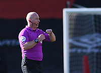 2nd April 2021; Vitality Stadium, Bournemouth, Dorset, England; English Football League Championship Football, Bournemouth Athletic versus Middlesbrough; Referee Simon Hooper blows the final whistle with Bournemouth winning 3-1