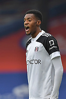 Tosin Adarabioyo of Fulham during the Premier League behind closed doors match between Crystal Palace and Fulham at Selhurst Park, London, England on 28 February 2021. Photo by Vince Mignott / PRiME Media Images.