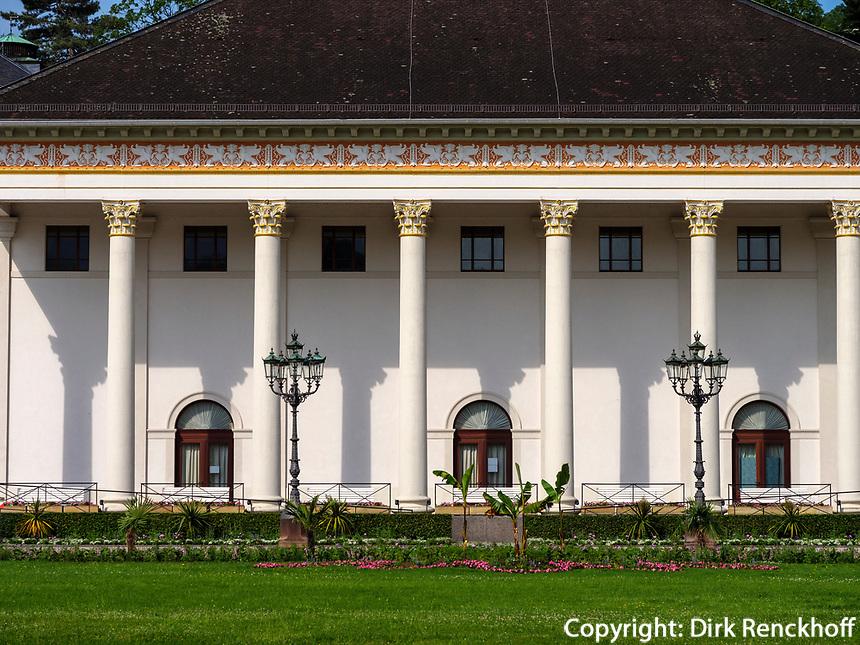 Kurhaus, Baden-Baden, Baden-Württemberg, Deutschland, Europa<br /> Kurhaus, Baden-Baden, Baden-Wuerttemberg, Germany, Europe