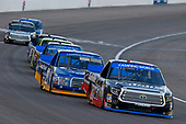 NASCAR Camping World Truck Series<br /> Las Vegas 350<br /> Las Vegas Motor Speedway, Las Vegas, NV USA<br /> Saturday 30 September 2017<br /> Ben Rhodes, Safelite Auto Glass Toyota Tundra and Chase Briscoe, Cooper Standard Ford F150<br /> World Copyright: Russell LaBounty<br /> LAT Images