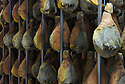01/12/14 - AURILLAC - CANTAL - FRANCE - Entreprise Cantal Salaisons. Sechoir a jambon pare au saindoux - Photo Jerome CHABANNE