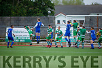 Action from Killarney Celtic v Killarney Athletic in the Denny Premier A League Final.