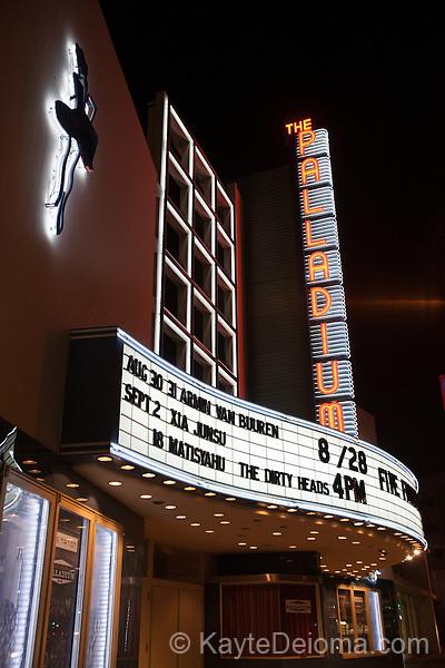 The Palladium in Hollywood, Los Angeles, CA