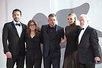 Ben Affleck, Nicole Holofcener, Ridley Scott, Jodie Comer, Matt Damon attending The Last Duel Premiere as part of the 78th Venice International Film Festival in Venice, Italy on September 10, 2021. <br /> CAP/MPIIS<br /> ©MPIIS/Capital Pictures